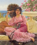 Flabellifera, John William Godward