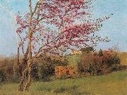 Blossoming Red Almond, John William Godward
