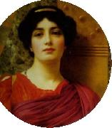 Contemplation, John William Godward