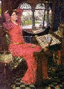 I am half sick of shadows said the lady of shalott, John William Waterhouse
