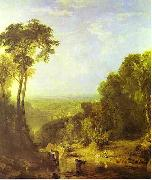 Crossing the Brook by J. M. W. Turner