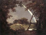 Landscape with Rainbow, Joseph wright of derby