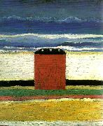 red house, Kazimir Malevich