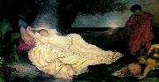 Lord Frederic Leighton Cymon and Iphigenia oil painting reproduction