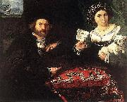 Husband and Wife, Lorenzo Lotto