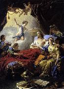 Louis Jean Francois Lagrenee Allegory on the Death of the Dauphin oil painting artist
