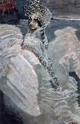 Mikhail Vrubel Swan princess. oil painting reproduction