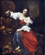 Nicolas Regnier Allegory of Vanity oil painting