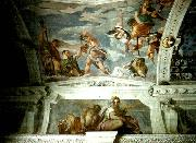 ceiling of the stanza di bacco, Paolo  Veronese