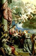 the mystic marriage of st., Paolo  Veronese
