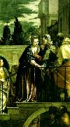 the visitation, Paolo  Veronese