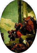 esther brought before abasuerus, Paolo  Veronese