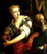 Paolo  Veronese judith oil painting reproduction