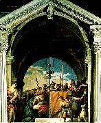 presentation of christ, Paolo  Veronese