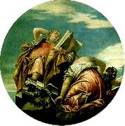 arithmetic, harmony and philosophy, Paolo  Veronese