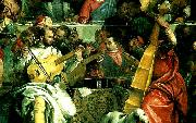 a group of musicians, Paolo  Veronese