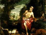 Paolo  Veronese st. jerome oil painting on canvas
