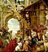 adoration of the magi, Paolo  Veronese