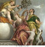 Paolo Veronese Allegory of Love IV Happy Union oil painting on canvas