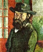 Paul Cezanne sjalvportratt oil painting on canvas