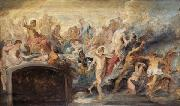 Council of Gods, Peter Paul Rubens