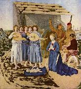 Piero della Francesca Geburt Christi oil painting reproduction