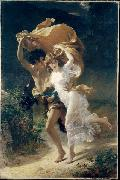 Pierre Auguste Cot The Storm oil painting