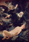 Rembrandt Peale The sacrifice of Abraham oil painting reproduction