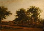 Samuel Lancaster Gerry A Rural Homestead near Boston oil painting