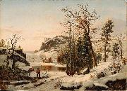 Samuel Lancaster Gerry New England Early Winter oil painting