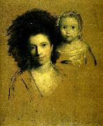 mrs john  spencer and her daughter