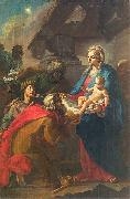 Szymon Czechowicz Adoration of the Magi. oil painting