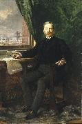 Portrait of Washington A. Roebling, Theobald Chartran
