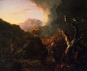 Landscape with Dead Tree, Thomas Cole