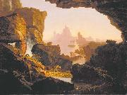 Thomas Cole The Subsiding of the Waters of the Deluge oil painting reproduction