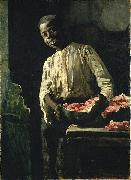 Thomas Hovenden I Know d It Was Ripe oil painting