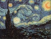 Vincent Van Gogh nuit etoilee oil painting reproduction