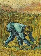 Reaper with Sickle, Vincent Van Gogh