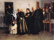 Vladimir Makovsky Not Guilty oil painting