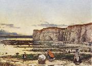 William Dyce Pegwell Bay in Kent eine Erinnerung an den Oktober oil painting