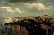 William Stanley Haseltine After a Shower -- Nahant, Massachusetts oil painting