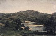 Study for Welch Mountain from West Compton, New Hampshire