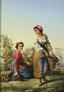 unknow artist Italian Vintage oil painting reproduction