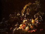 Abraham Brueghel Still life with fruit oil painting reproduction