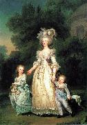 Marie Antoinette with her children, Adolf-Ulrik Wertmuller