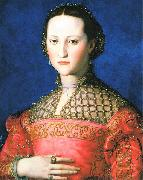 Agnolo Bronzino Portrait of Eleonora di Toledo oil painting reproduction