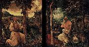 Albrecht Altdorfer Diptych oil painting reproduction