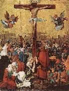 Albrecht Altdorfer Christ on the Cross oil painting reproduction