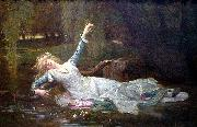 Alexandre  Cabanel Ophelia oil painting reproduction