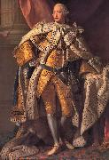 Allan Ramsay King George III oil painting reproduction